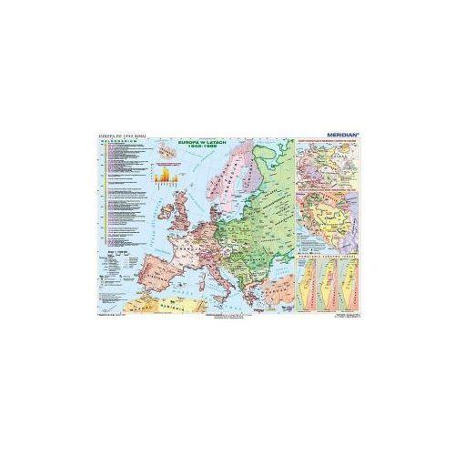 Produkt Europa po 1945 roku. Mapa ścienna Europy., marki Meridian