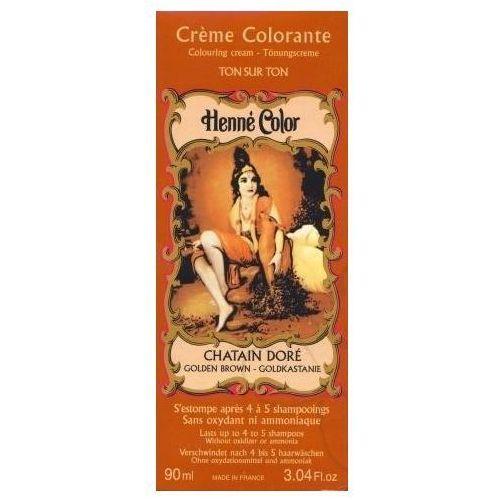 Cosmetics Natural Colour Cream - Henna w płynie Chatain Dore/Złoty Kasztan 90ml - szczegóły w Pachnidełko