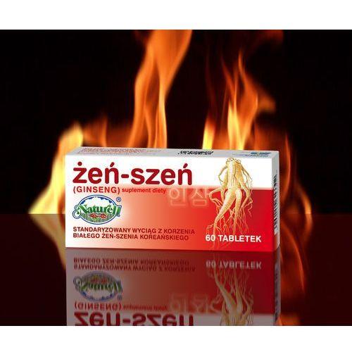Ginseng (żeń-szeń) 100 mg x 60 tabl, postać leku: tabletki