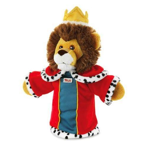 Pluszowa pacynka na rękę, Król/lew, 29973-Trudi, zabawa w teatrzyk (pacynka, kukiełka)