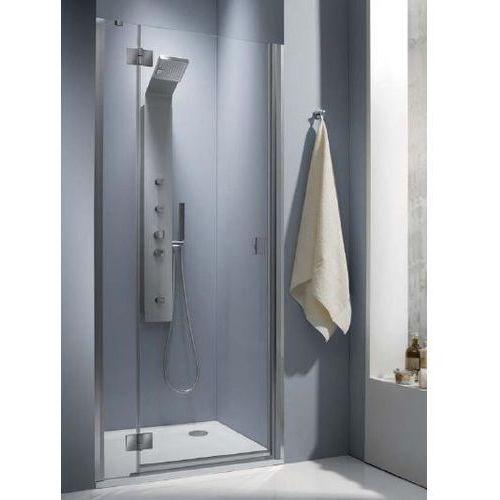 Essenza DWJ Radaway 80 lewe drzwi wnękowe brązowe - 32712-01-08NL (drzwi prysznicowe)