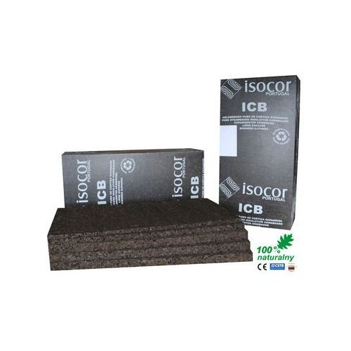 Paczka ISOCOR 15MM korek ekspandowany 10m2 (izolacja i ocieplenie)