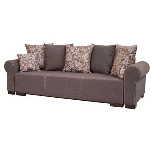 Sofa rozkładana Dakota - Brązowy, Meble tapicerowane
