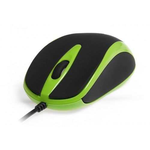 Media-Tech Myszka PLANO  MT1091G zielona z kat. myszy, trackballe i wskaźniki