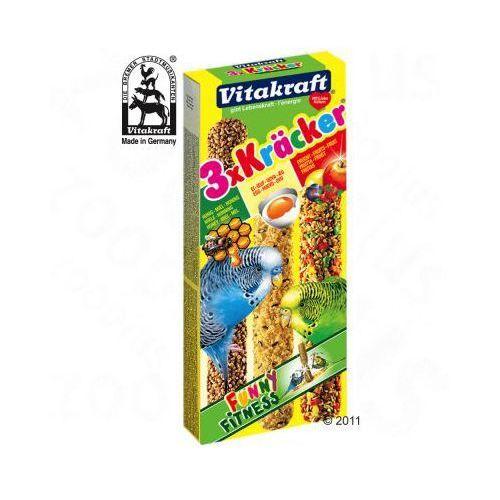 Krakersy dla papużek falistych - 2 x 3 Kiwi/Figa/Banan