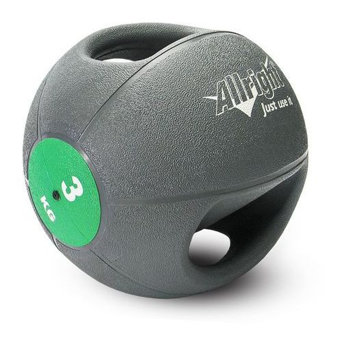 Produkt Piłka lekarska z uchwytami  3kg, marki Allright