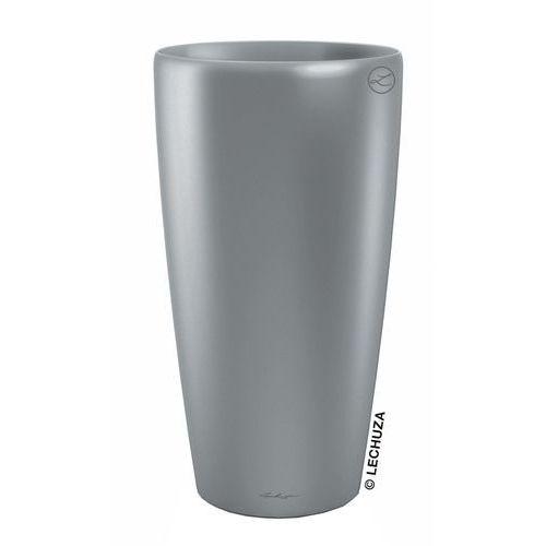 Donica Lechuza Rondo srebrna, produkt marki Produkty marki Lechuza
