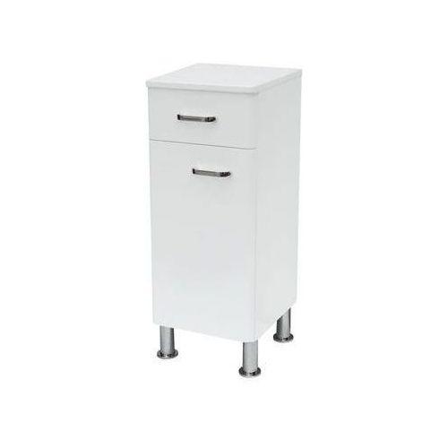 Produkt z kategorii- regały łazienkowe - Alpina - Półsłupek stojący uniwersalny