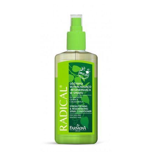 RADICAL Odżywk wzmacniająco-regenerująca w sprayu 200ml - produkt z kategorii- odżywki do włosów