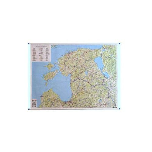 Kraje Bałtyckie mapa ścienna 1:400 000  & Berndt, produkt marki Freytag
