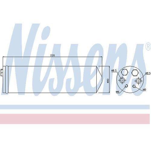 Towar z kategorii: osuszacze powietrza - Osuszacz, klimatyzacja NISSENS 95146