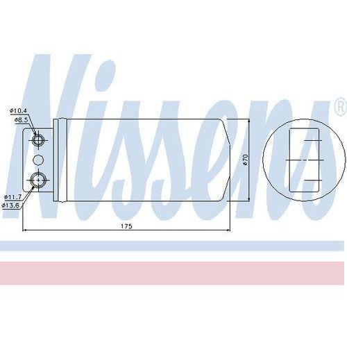 Towar z kategorii: osuszacze powietrza - Osuszacz, klimatyzacja NISSENS 95235