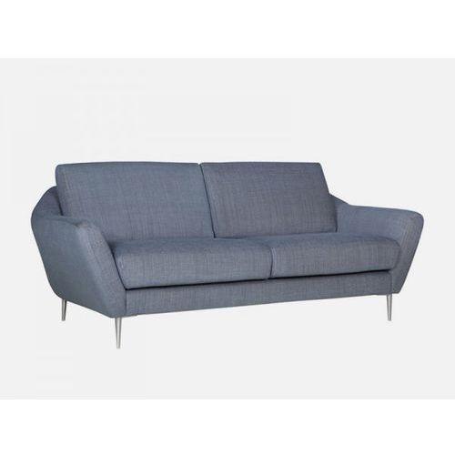 Sofa Agda szara MATTIS 45 blue nogi alu  E1843-0300-2S-MATTIS45-145ALU, Sits