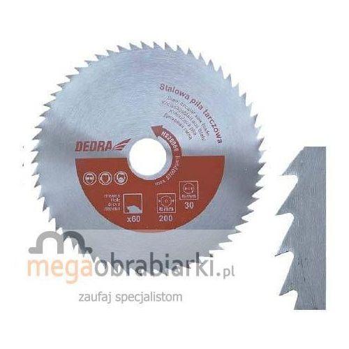 DEDRA Stalowa piła tarczowa do drewna 180x20mm HS18060 RATY 0,5% NA CAŁY ASORTYMENT DZWOŃ 77 415 31 82 ze sklepu Megaobrabiarki - zaufaj specjalistom