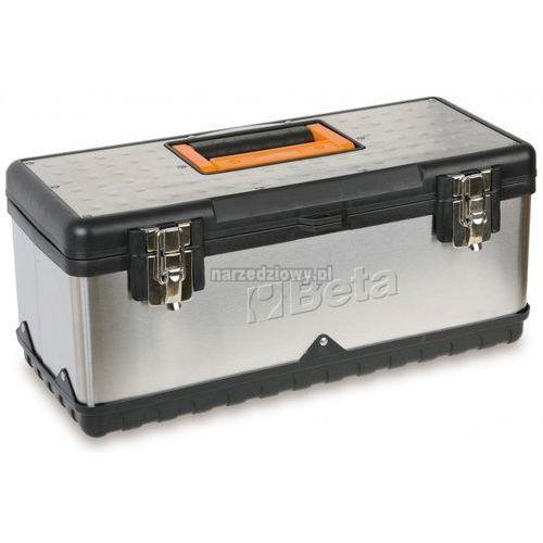 Towar z kategorii: skrzynki i walizki narzędziowe - BETA Skrzynka narzędziowa długa ze stali nierdzewnej i
