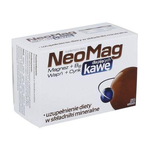 Neomag dla Pijących Kawę 50 tabletek, postać leku: tabletki