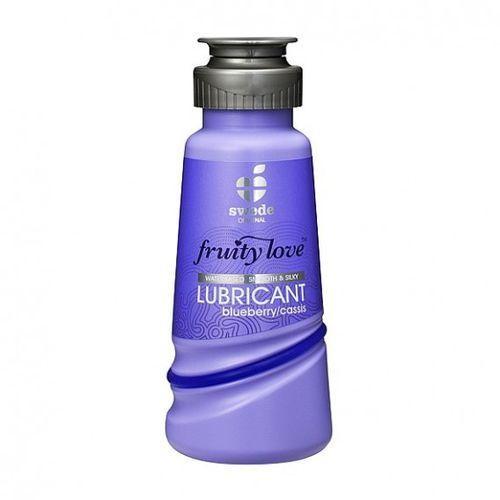 Owocowy środek nawilżający - Swede Fruity Love Lubricant Blueb/Cassis 100 ml Jagoda Porzeczka - oferta [051