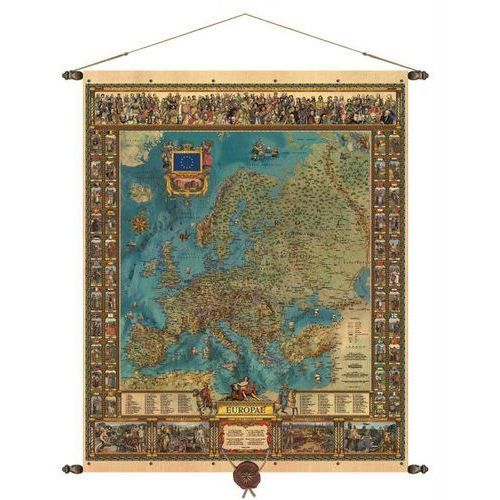 Europa mapa ścienna 97 x 121 cm , produkt marki Pergamena