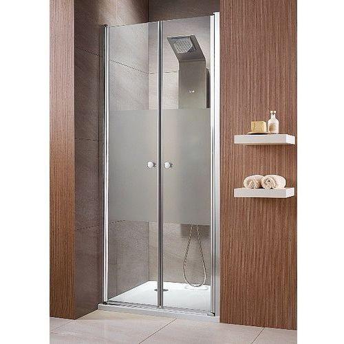 EOS DWD Radaway drzwi wnękowe dwuczęściowe ( wahadłowe) 890-910x1970 chrom przejrzyste - 37703-01-01N (drz
