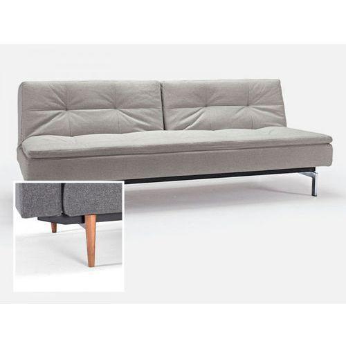 Sofa Dublexo beżowa 527 nogi jasne drewno  741050527-741024-1-6, INNOVATION iStyle