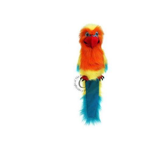 Papuga Love Bird - pacynka wydająca dźwięki (pacynka, kukiełka)
