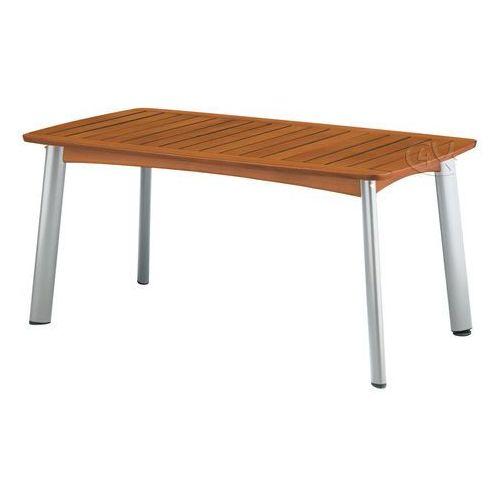 Stół Denver aluminiowo-drewniany 160 x 95 (stół ogrodowy)
