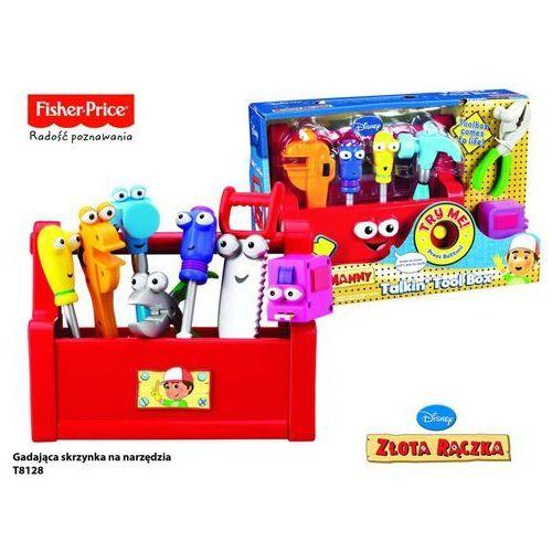 Gadająca skrzynka na narzędzia Fisher Price (skrzynka narzędziowa zabawka) od Pieluchowo.com