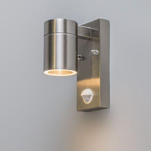 Lampa zewnętrzna Solo stal z czujnikiem ruchu na podczerwień sprawdź szczegóły w lampyiswiatlo.pl