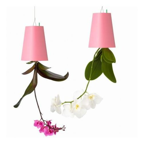 Produkt Ekologiczna Doniczka Wisząca Do Góry Nogami Mała Różowa, marki boskke
