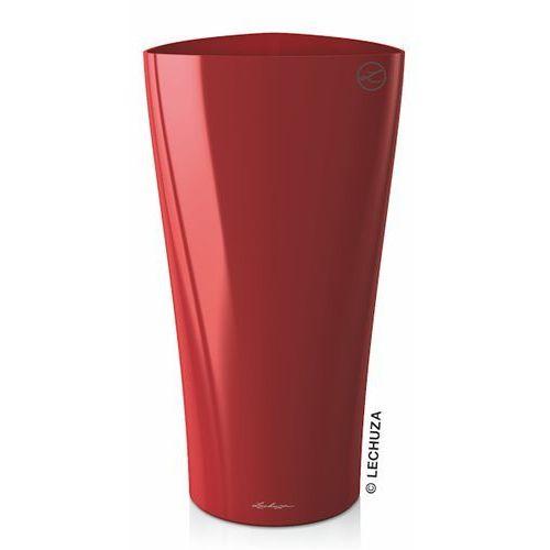 Donica Lechuza Delta 30   40 czerwona scarlet red, produkt marki Produkty marki Lechuza