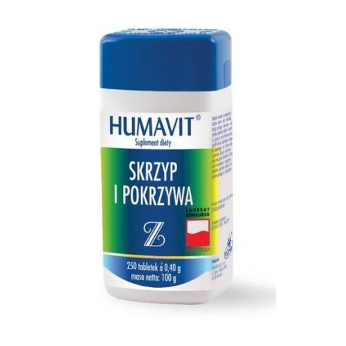 Humavit Z Skrzyp i pokrzywa tabl. x 250, postać leku: tabletki