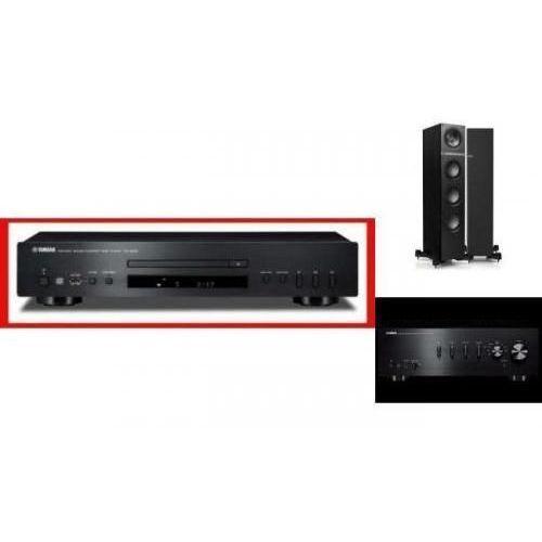 Artykuł YAMAHA A-S301 + CD-S300 + KEF Q500 czarne z kategorii zestawy hi-fi
