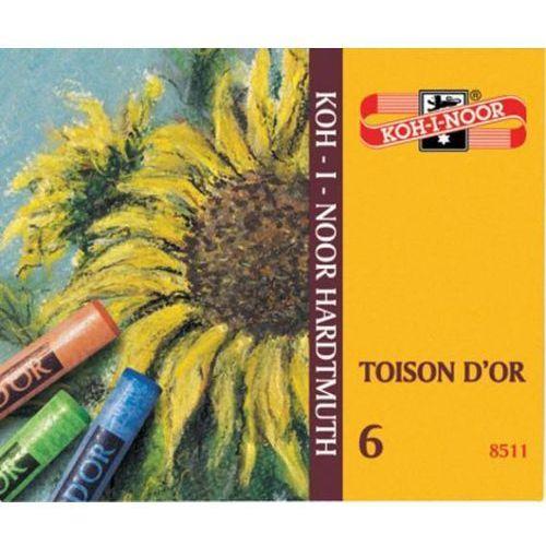 Pastele suche Koh-i-noor Toison D`or 6 kolorów - oferta [3536d94d731f9269]