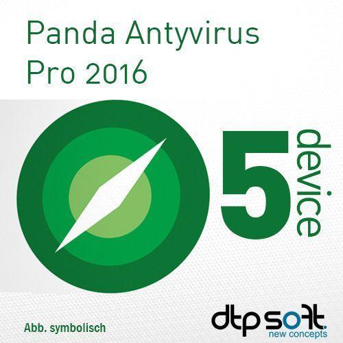 Panda Antivirus Pro 2016 Multi Device PL ESD 5 Urządzeń - oferta (15e86c26f5d51567)