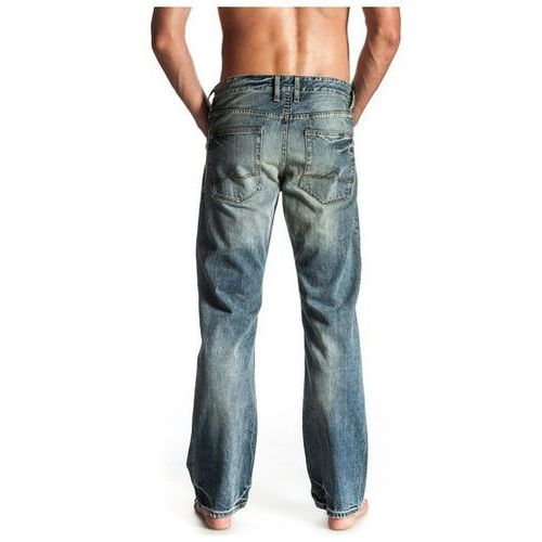 jeansy Quiksilver Buster Light Wash - Vint Antique Wash - produkt z kategorii- spodnie męskie