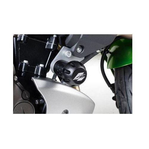 Puig y Kawasaki Versys; 2007-2009 (czarne)   TRANSPORT KURIEREM GRATIS z kat. crash pady motocyklowe