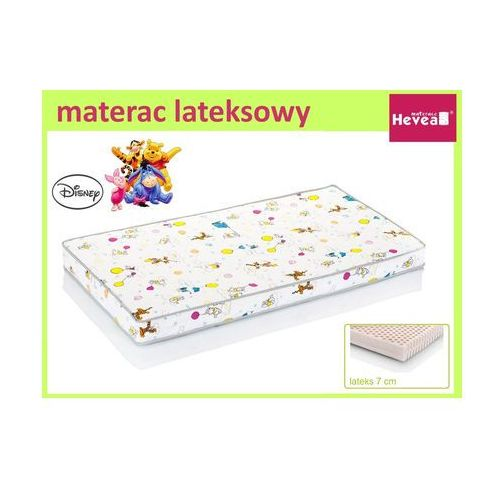 Produkt HEVEA MATERAC LATEKSOWY DISNEY BABY KUBUŚ PUCHATEK 130x70