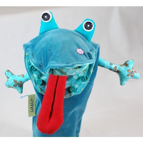 pacynka - żaba (pacynka, kukiełka)