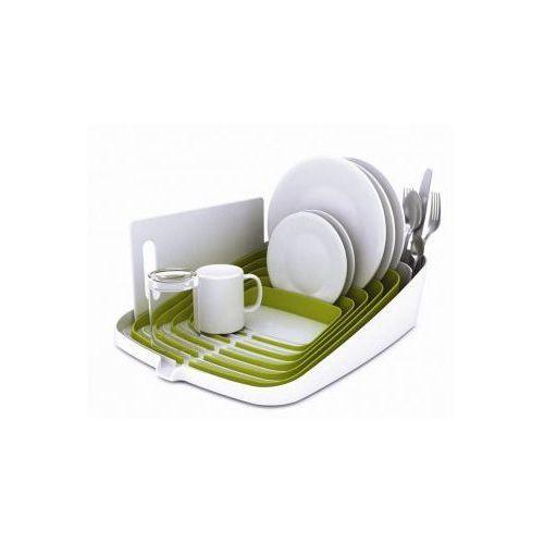 Suszarka do naczyń ARENA, biało-zielona - produkt z kategorii- suszarki do naczyń