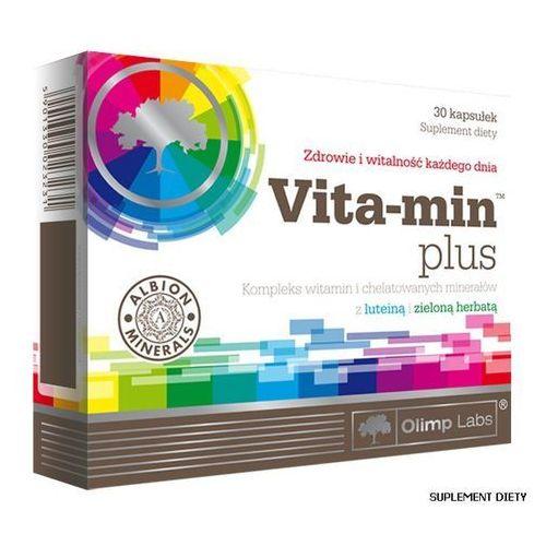 Olimp Vita-Min Plus z luteiną i ziel.herb, postać leku: kapsułki