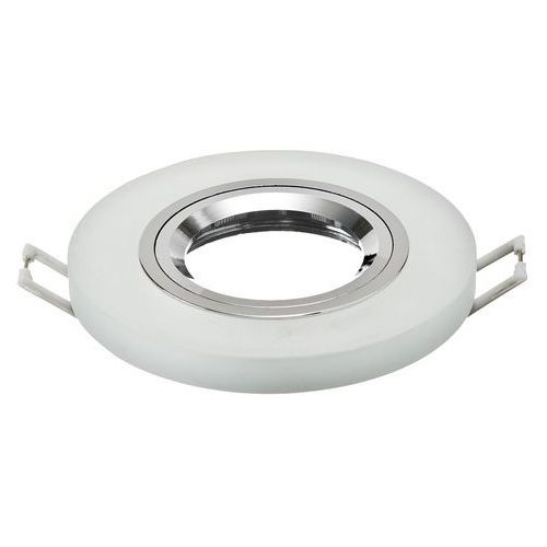 Oprawa szklana punktowa stała okrągła -szron z kategorii oświetlenie