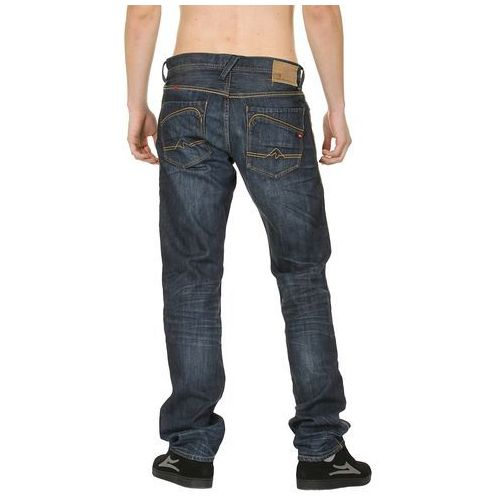 jeansy Quiksilver Norpac Custom - Rusted - produkt z kategorii- spodnie męskie