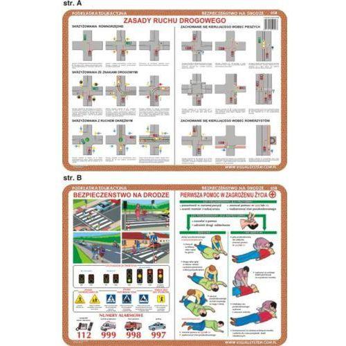 Bezpieczeństwo na drodze - podkładka edukacyjna nr 058 - oferta [c5f8e60e51921336]
