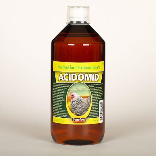 ACIDOMID - DRÓB 1000 ml - CHRONI PRZED KOKCYDIOZĄ