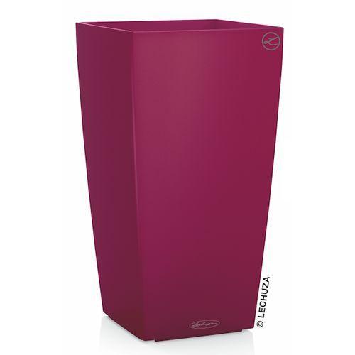 Donica Lechuza Cubico Color czerwień granatu, produkt marki Produkty marki Lechuza