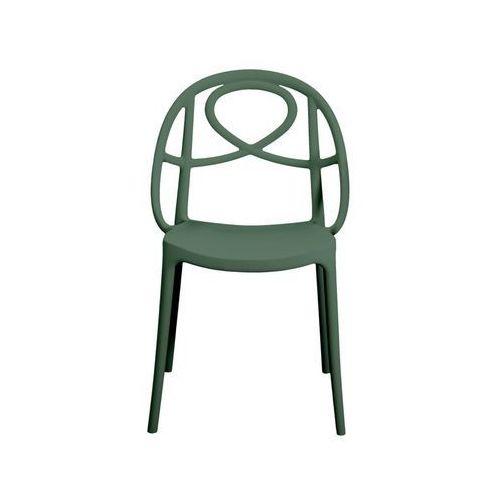 Krzesło ogrodowe Green Etoile zielone ze sklepu All4home