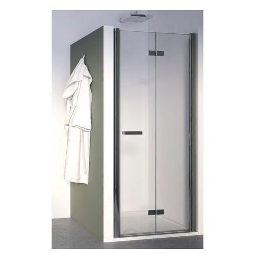 SANSWISS SWING-LINE F Drzwi 80 dwuczęściowe składane lewe SLF1G08005007 (drzwi prysznicowe)