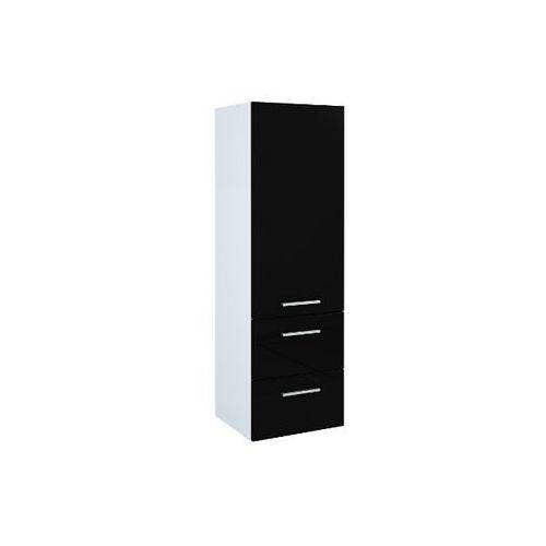 Słupek łazienkowy KWADRO Black 40 163030 Elita - produkt z kategorii- regały łazienkowe