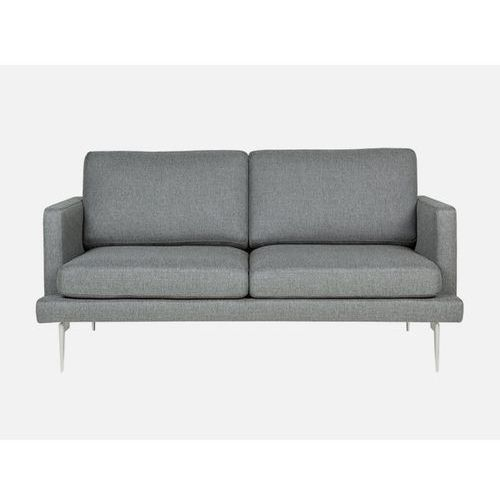 Sofa Ludvig 2 seater NANCY 6 dark grey tkanina ciemnoszara  E1568-0200-2S-NANCY6-139, Sits
