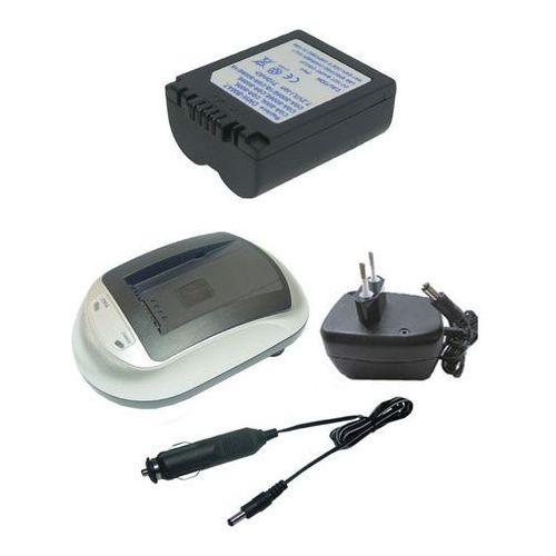 01. Zestaw 1 x bateria PANASONIC CGA-S006E, CGR-S006E + ładowarka, marki Hi-Power do zakupu w ebaterie.pl